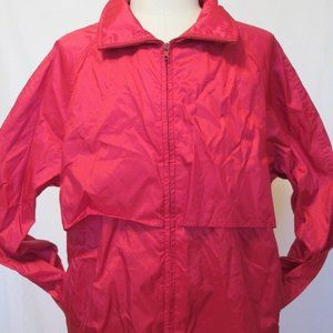Eddie Bauer Men's Red Breathable Jacket Waterproof